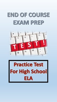 ELA End of Course, AP Practice Test Grade 11