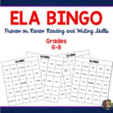 ELA BINGO - Literary and Writing terms!