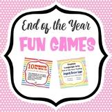ELA End of Year Games Bundle