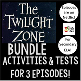 ELA Halloween Activities Using Episodes of The Twilight Zone ~ Bundle!