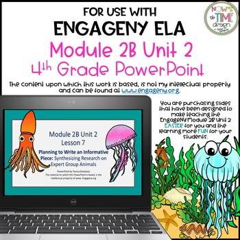 ELA Engage NY Module 2B Unit 2 4th grade Common Core