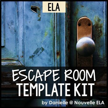 ELA Escape Room Template Kit