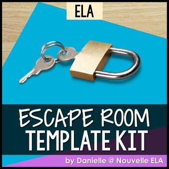 ELA Escape Room Template Kit
