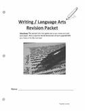 ELA Essay Revision Packet