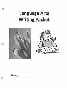 ELA Essay Writing Outline