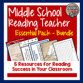 ELA Bundle for Intrmdt/Middle School - TDQ, Close Reading, STEAM in Lit
