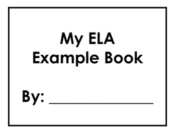 ELA Review Book {Student Created}