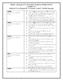 ELA Extended Response Rubric 4-8 with Student Friendly Language