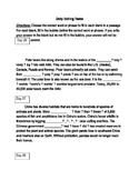 FSA ELA Test Daily Grammar Editing Tasks Practice Days 26-30