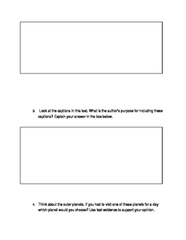 ELA FSA Style reading passage and questions
