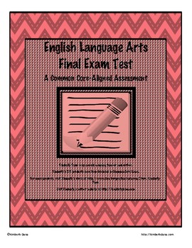 ELA Final Exam Test