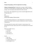 ELA Florida Standards Assessment--Strategies for Writing t