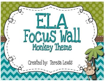 ELA Focus Wall CCSS and Essential Questions for 3rd Grade