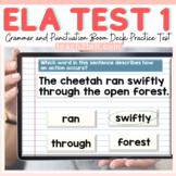ELA GRAMMAR & PUNCTUATION: STANDARDIZED PRACTICE TEST 1 BO