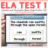ELA PRACTICE TEST PREP 1 BOOM DIGITAL CARDS