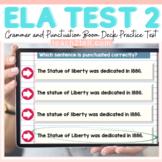 ELA PRACTICE TEST PREP 2 BOOM DIGITAL CARDS