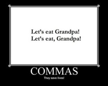 COMMAS WORKSHEET, FROM APPOSITIVES TO SERIES: ELA GRAMMAR