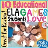 ELA Game Bundle - Literary Elements + Persuasion + Poetic