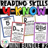 Reading Games Mini U-Know Bundle 2   Reading Test Prep Review Games