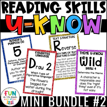 Literacy Games Bundle 2: U-Know  ELA Games