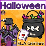 ELA Games Halloween