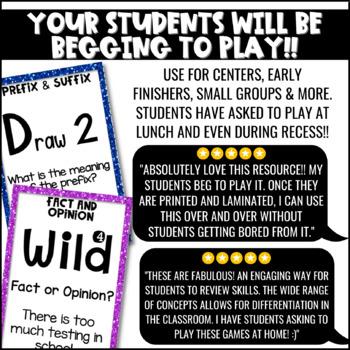 Literacy Games MEGA Bundle: U-Know  ELA Games