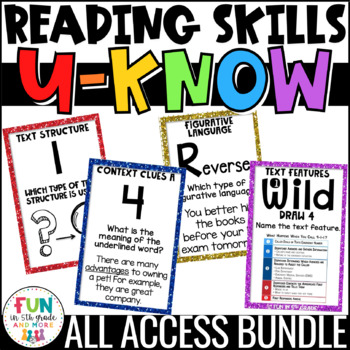 Reading Games   Reading Centers   Reading Review Games   Upper Elementary