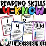 Reading Games | Reading Test Prep | Reading Review Games | Upper Elementary