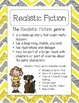 ELA Genre Posters and Charts for Grade 2: Chevron Edition