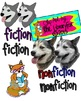 ELA Genres Clip Art Set with Blacklines for Personal or Co