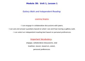 ELA Grade 3 Module 3B Units 1, 2, AND 3 BUNDLE! POWERPOINT NY State!
