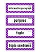 ELA Grade 4, Module 1B, Unit 2 Vocabulary Words
