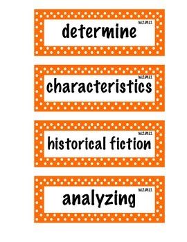 ELA Grade 4, Module 2A, Unit 3 Vocabulary Words