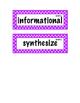 ELA Grade 4, Module 2B, Unit 2 Vocabulary Words