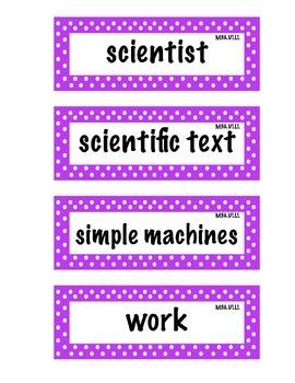 ELA Grade 4, Module 3A, Unit 1 Vocabulary Words