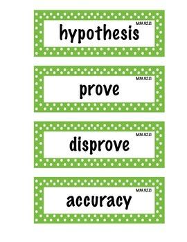 ELA Grade 4, Module 3A, Unit 2 Vocabulary Words