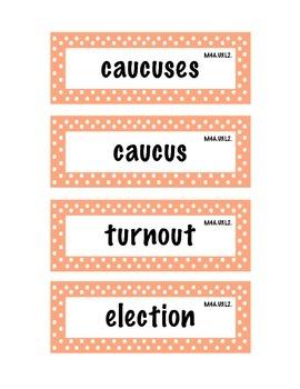 ELA Grade 4, Module 4A, Unit 3 Vocabulary Words