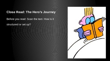 ELA Grade 6 Module 1 Unit 1 Lesson 8 The Hero's Journey The Gist
