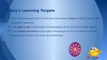 ELA Grade 6 Module 2a Unit 1 Lesson 11 Digging Deeper into Steve Jobs 20-22