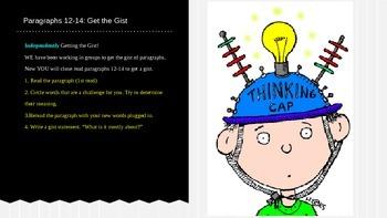 ELA Grade 6 Module 2a Unit 1 Ls 8 Getting the Gist Steve Jobs par 12-14