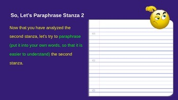 "ELA Grade 6 Module 2a Unit 2 Lesson 5 Looking Closely at ""If"" Stanza 2"