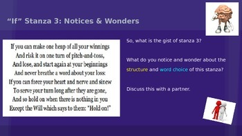 ELA Grade 6 Module 2a Unit 2 Lesson 6 Notices/Wonders/Voc Stanza3 IF