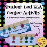ELA Grammar Centers- Nouns, Adjectives, Verbs, and Adverbs