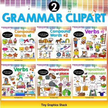 Grammar Clipart Bundle 2