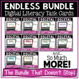 ELA Grammar Digital Task Cards Endless Growing Bundle | Di