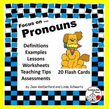Pronouns | Reference | Rules and Examples | Worksheets | Tests | Gr. 5-6