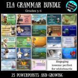 ELA Grammar PowerPoint Bundle {Growing}