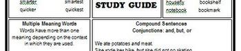 ELA Grammar Study Guide