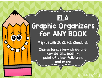 ELA Graphic Organizers Common Core