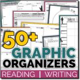 ELA Graphic Organizers (Essay Writing, Literature, Reading Non-Fiction & more)